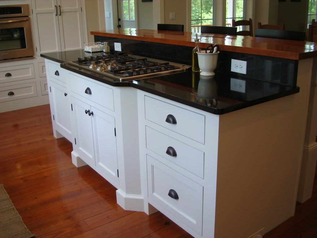 kitchen cabinets are painted BM Simply White. Our trim throughout ...