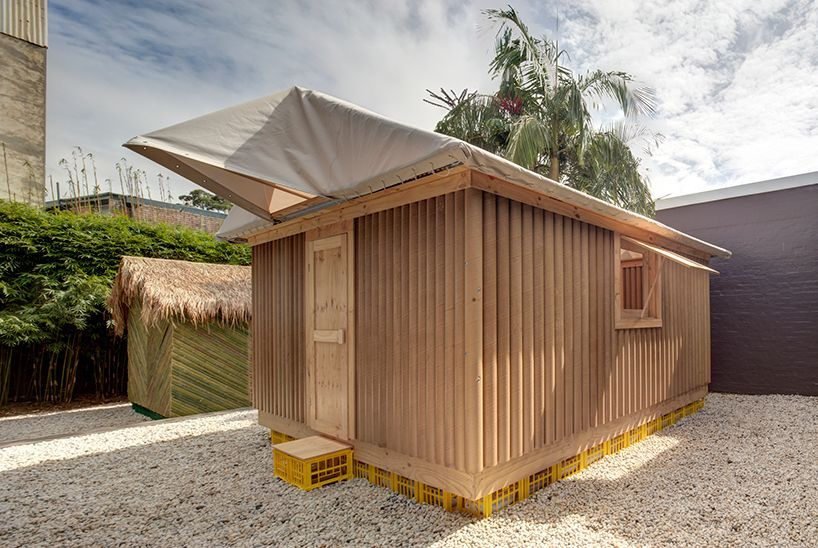 Designboom On Shigeru Ban Temporary Architecture Shelter Design