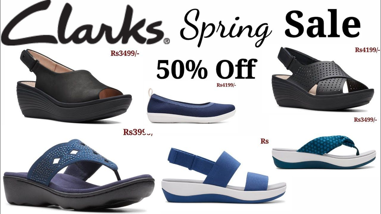CLARKS SHOES SPRING SALE 50% OFF LATEST