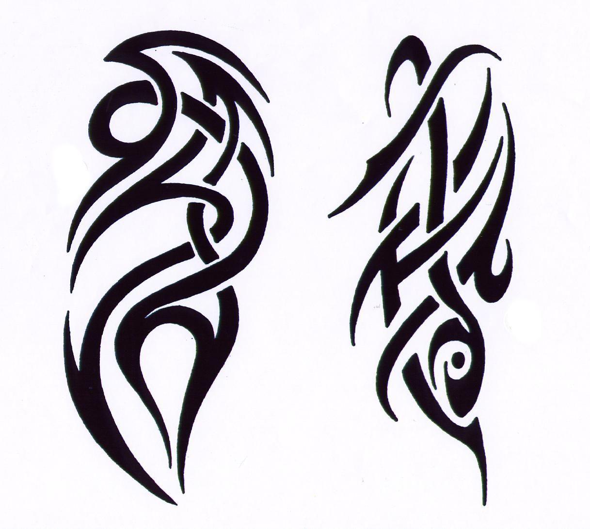 Картинки абстракции татуировки