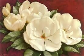 Resultado de imagen para magnolias oleos