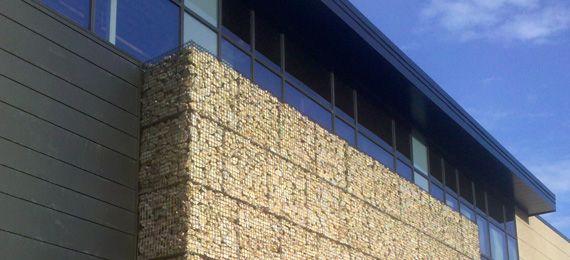 Architectural Cladding Landscaping Garden Pinterest Gabion - Architectural cladding