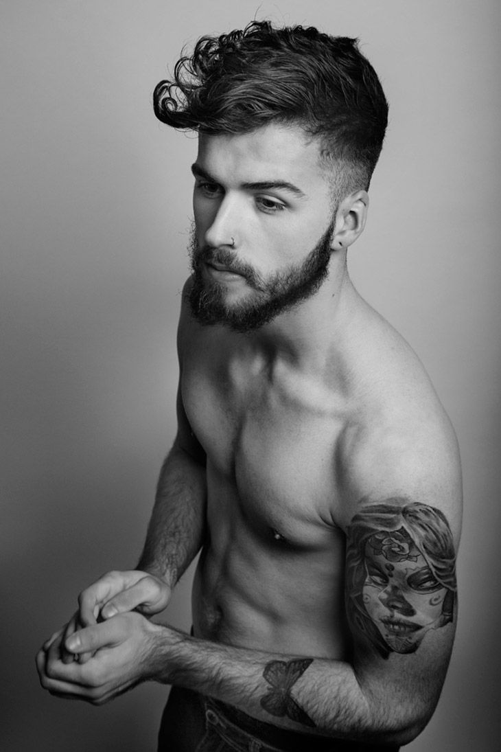 Bad mens haircuts this style makes the man look daring and sexier makes the bad boy