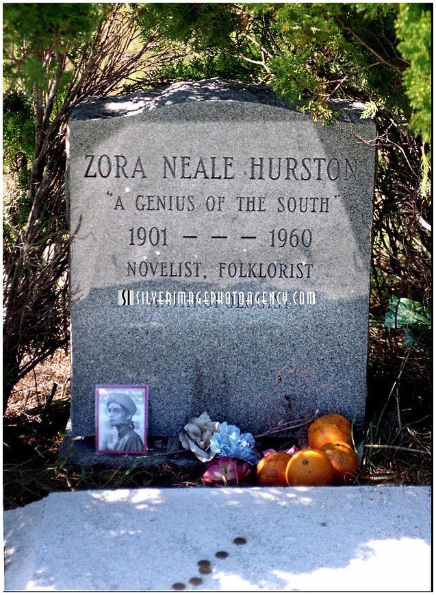 Zora Neale Hurston Grave NOVEMBER Photos Florida Writers