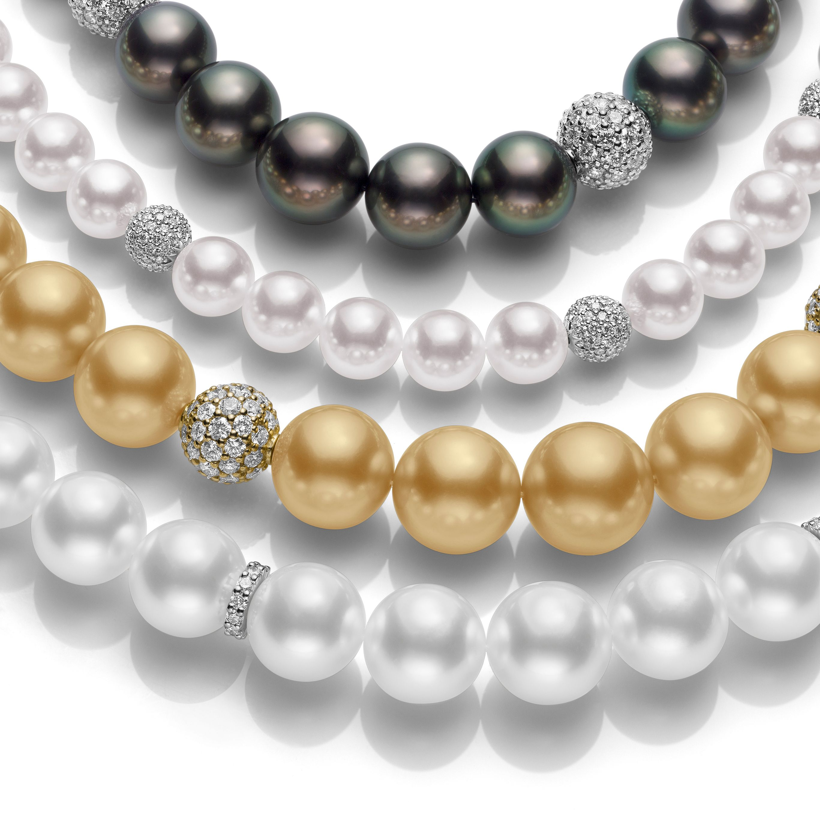 winterson freshwater pearl gold with multi large types pearls bracelet and coloured