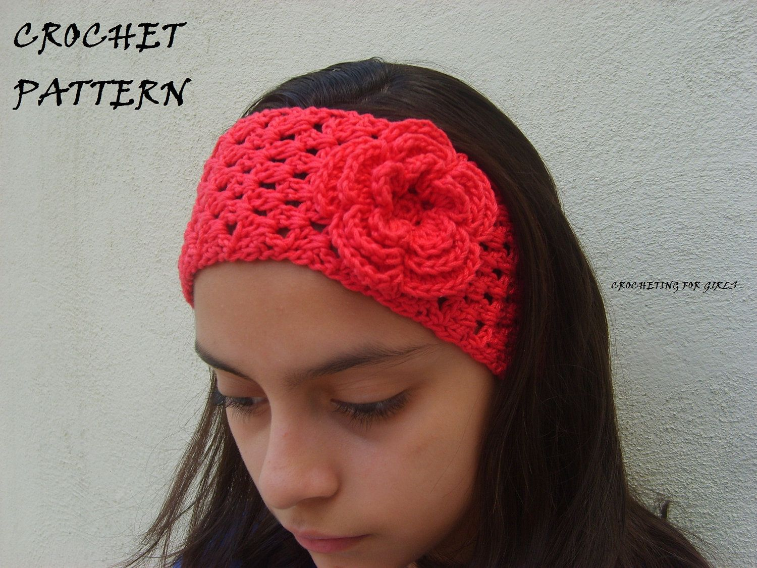 Headband/headwrap with flower