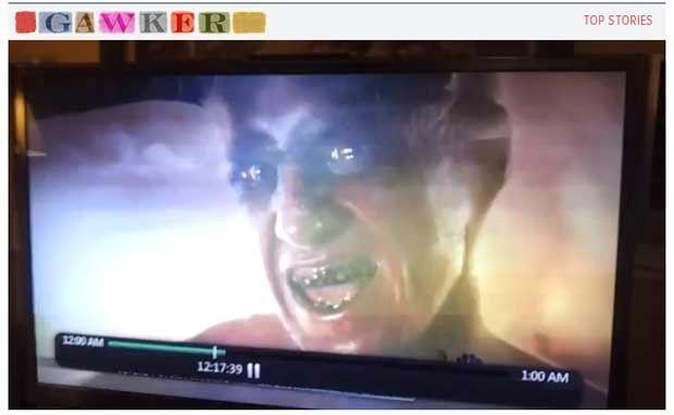 Imagem de 'demônio' vaza durante previsão do tempo em TV dos EUA