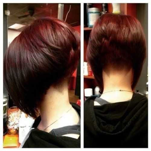 24 Short Haircuts For Women Just To Get Model Look Fash Circle Haircut Stacked In Back
