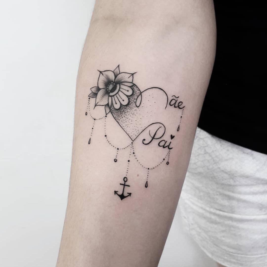 11 Mama Und Papa Tattoo Ideen Erinnerungs