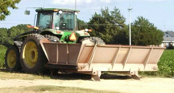 Tractor & dump buggy