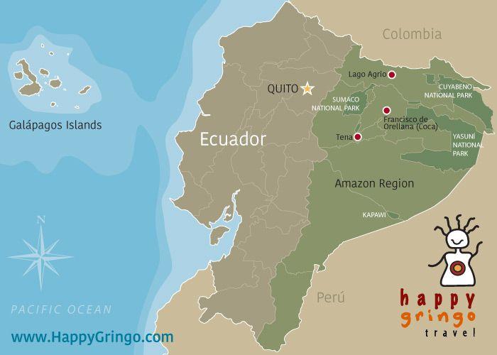 Galapagos On World Map.Amazing Amazon Tour Deals In 2019 Ecuador Trip Pinterest