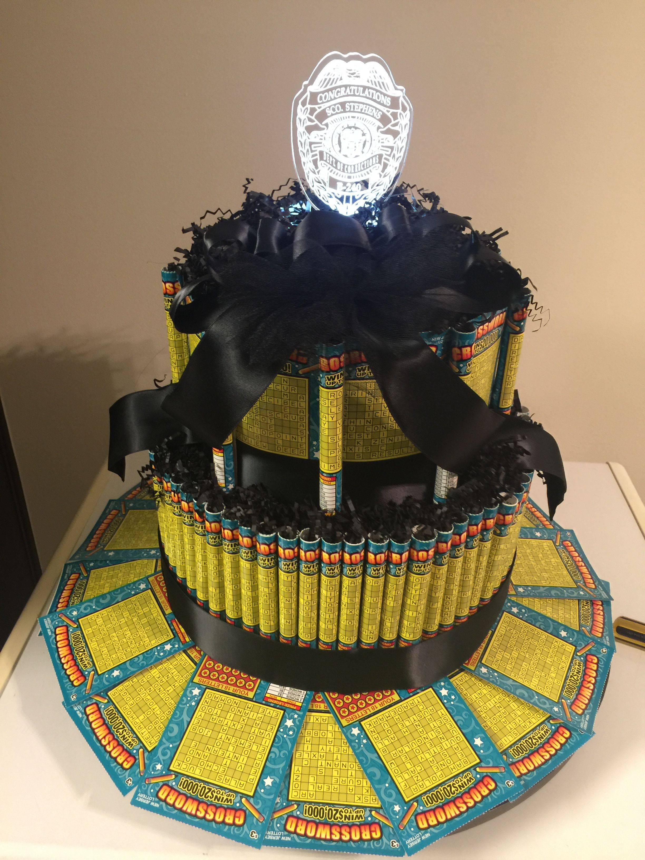 Scratch Off Lottery Tickets Cake
