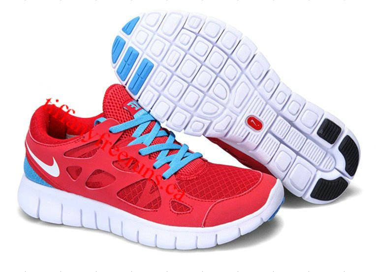 detailed look 5942e 81df2 nike free run 2 red white