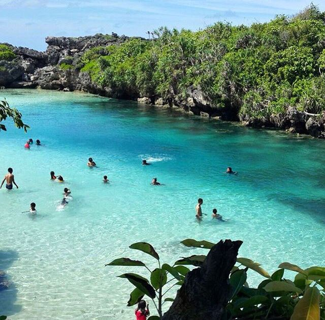 Vacation Ideas South East: Weekuri Lake, Sumba Island