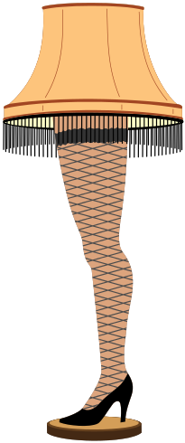 Krafty Nook: A Christmas Story - The Leg Lamp | Cricut Related Bug ...