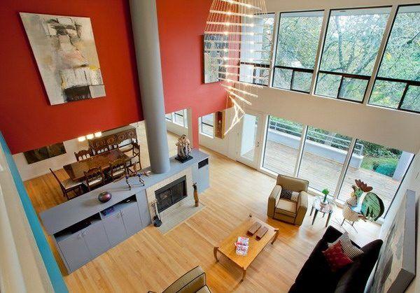 beliebteste farben für wohnzimmer  tolle ideen für