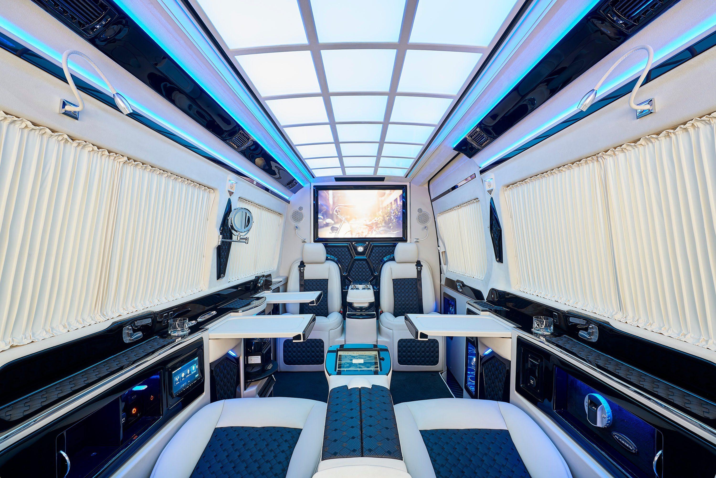 Klassen Mercedes Benz Sprinter Vip Business Van Armoured