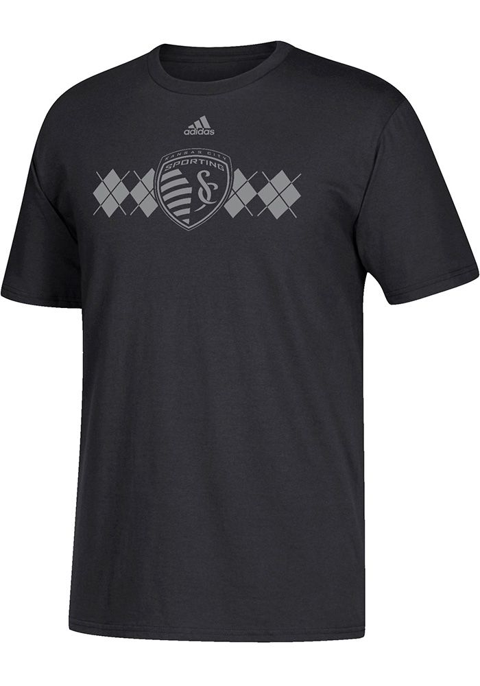 watch 6e5fa 58df3 Sporting Kansas City adidas Vintage Too Tri-Blend T-Shirt - Heathered Gray    Products   Shirts, Sporting kansas city, Adidas men