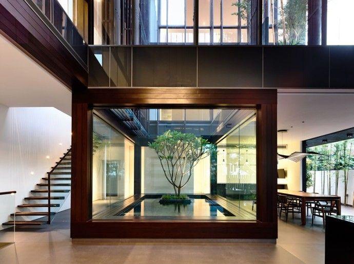 Notre Top 25 des intérieurs contemporains Villa design, Villas and - escalier interieur de villa