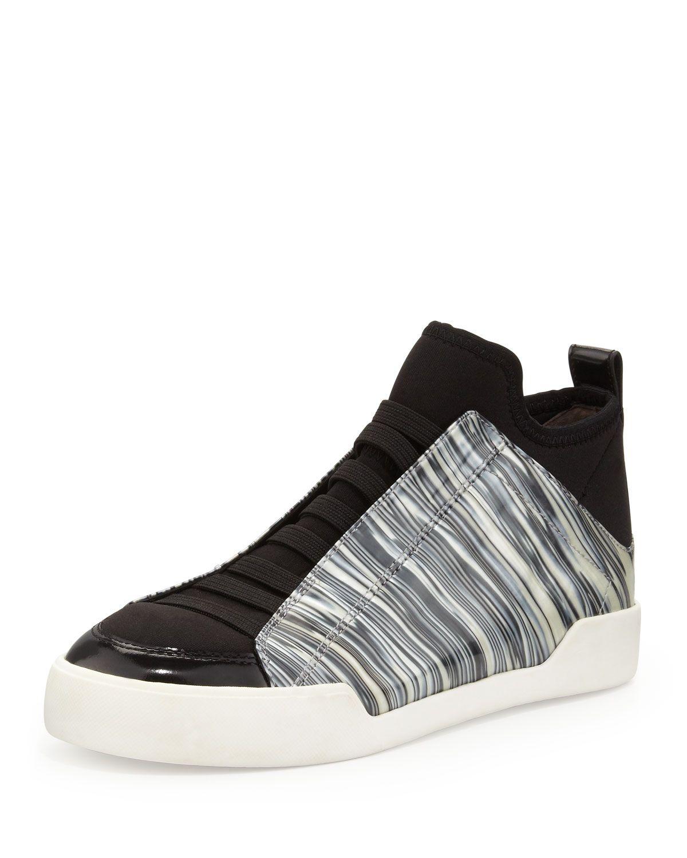 f145abf3a63 3.1 Phillip Lim Morgan Marbled Slip-On Sneaker