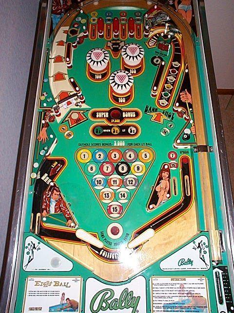Pinball Machines   Eight Ball Pinball Machine   pinball ...