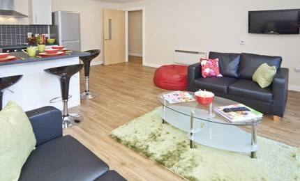 Mansion Groves Student Flats, Manchster. Modern, clean, stylish Manchester student flats.  #student #manchester #flats