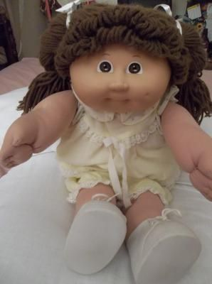 Cabbage Patch Kid Doll- these are still around but I remember when they came out.