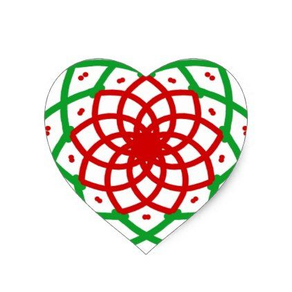 Merry christmas round heart sticker christmas stickers xmas eve custom holiday merry christmas