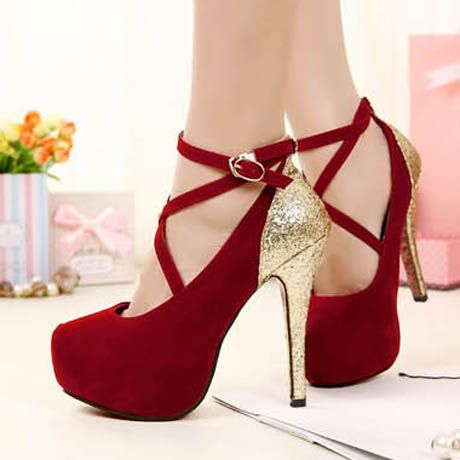 Image result for red heels gold | AG Wedding Project | Pinterest ...