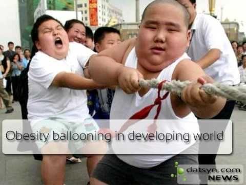 DatSyn News - Obesity Ballooning In Developing World  #obesity #health #adipositas #news #datsyn