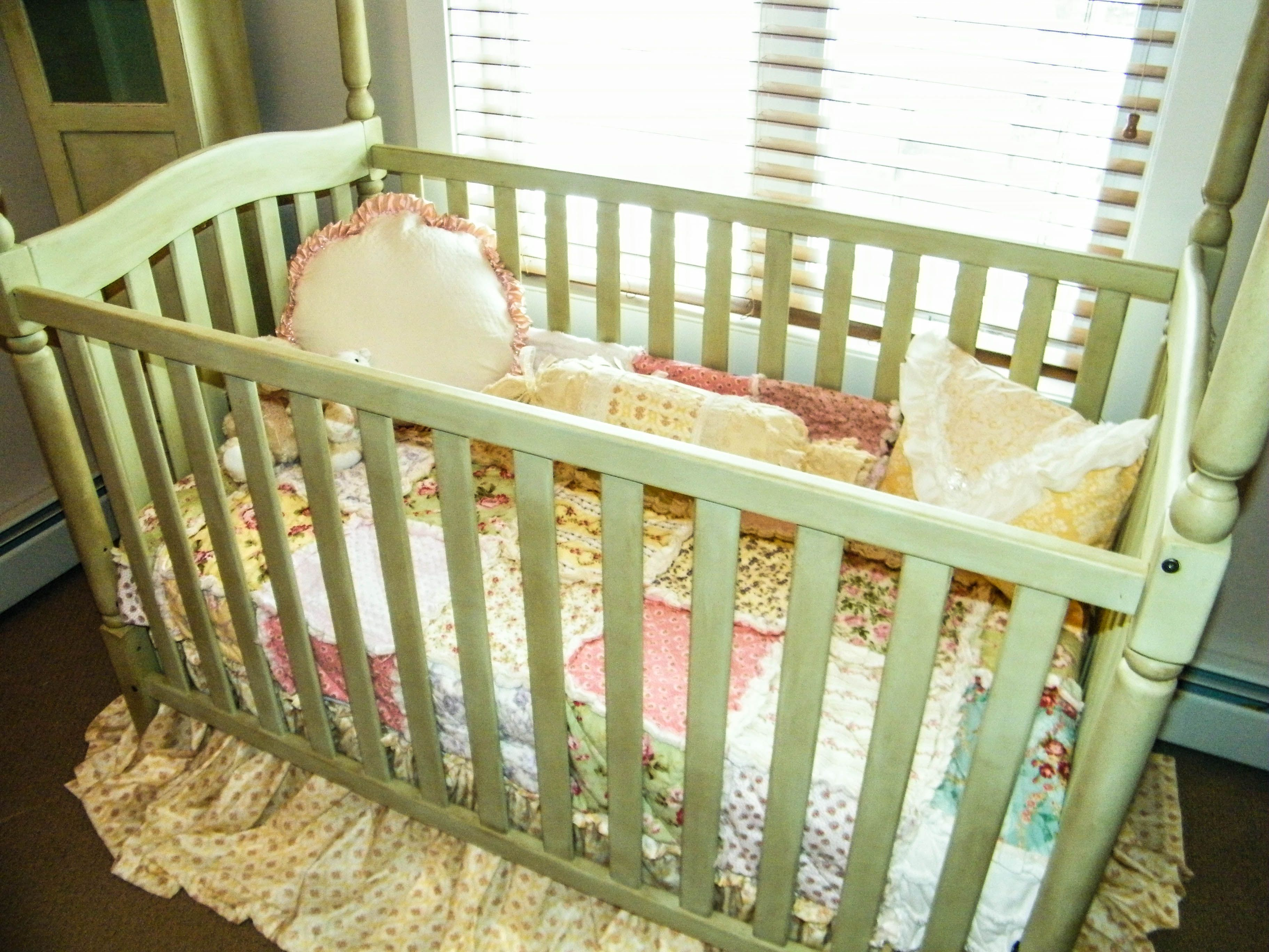 Safest brand of crib for babies - Baby Cribs Homemade Chalk Painted Crib Using Homemade Chalk Paint Or