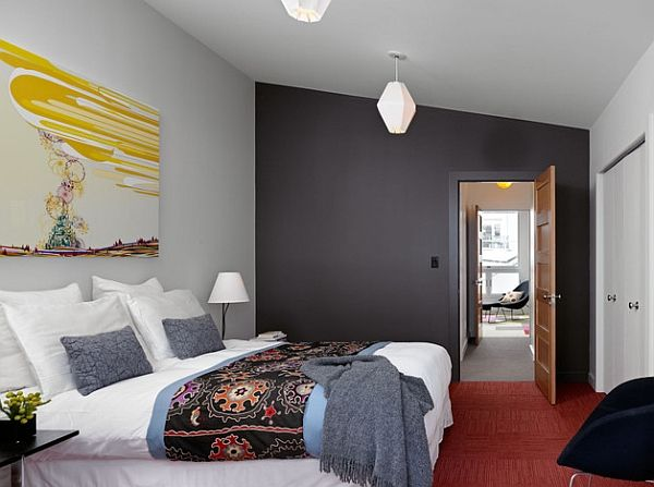 Grey Accent Walls In The Bedroom Is Predicted To Be A Hot Design Trend This  Year