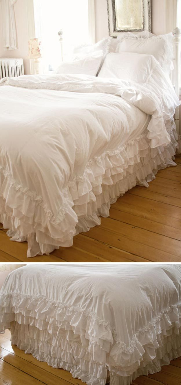 Shabby Chic Bedding Ideas Diy Projects Craft Ideas How To S For