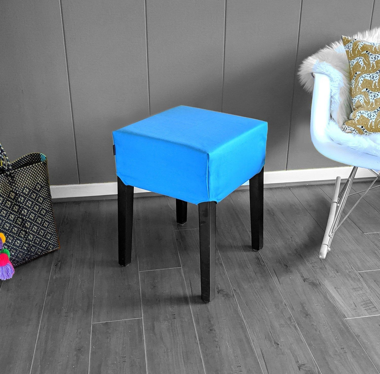 Solid Blue IKEA Nils Stool Seat Cover Ikea stool, Stool