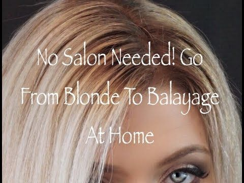 how to touch up balayage roots