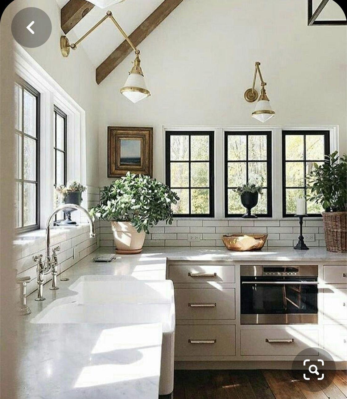 Architecture in 2020 Farmhouse kitchen design, Modern