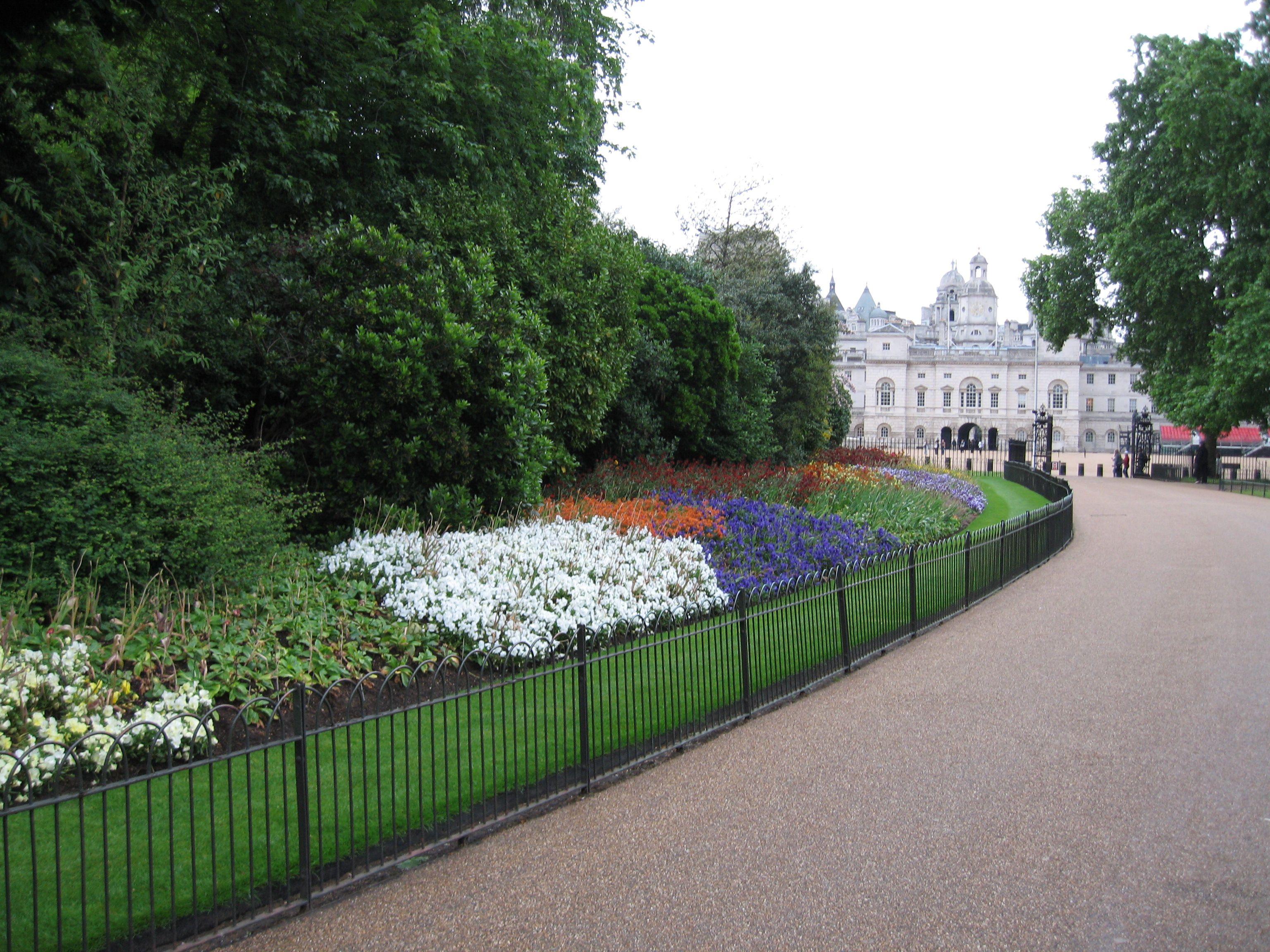 St. James's Park, looking west toward Horseguards, London