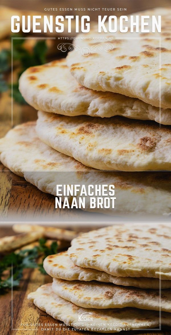Photo of This simple Naan bread is perfect as a quick side dish