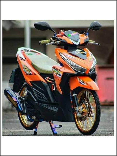 Modif Mio Gt Sederhana : modif, sederhana, Modifikasi, Motor, Indonesia, Motor,, Lowrider,, Honda