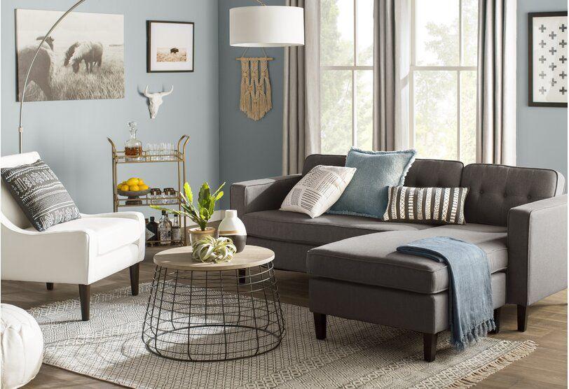 Home Design Ideas Photos Wayfair Gray Sectional Living Room Living Room Grey Brown Living Room
