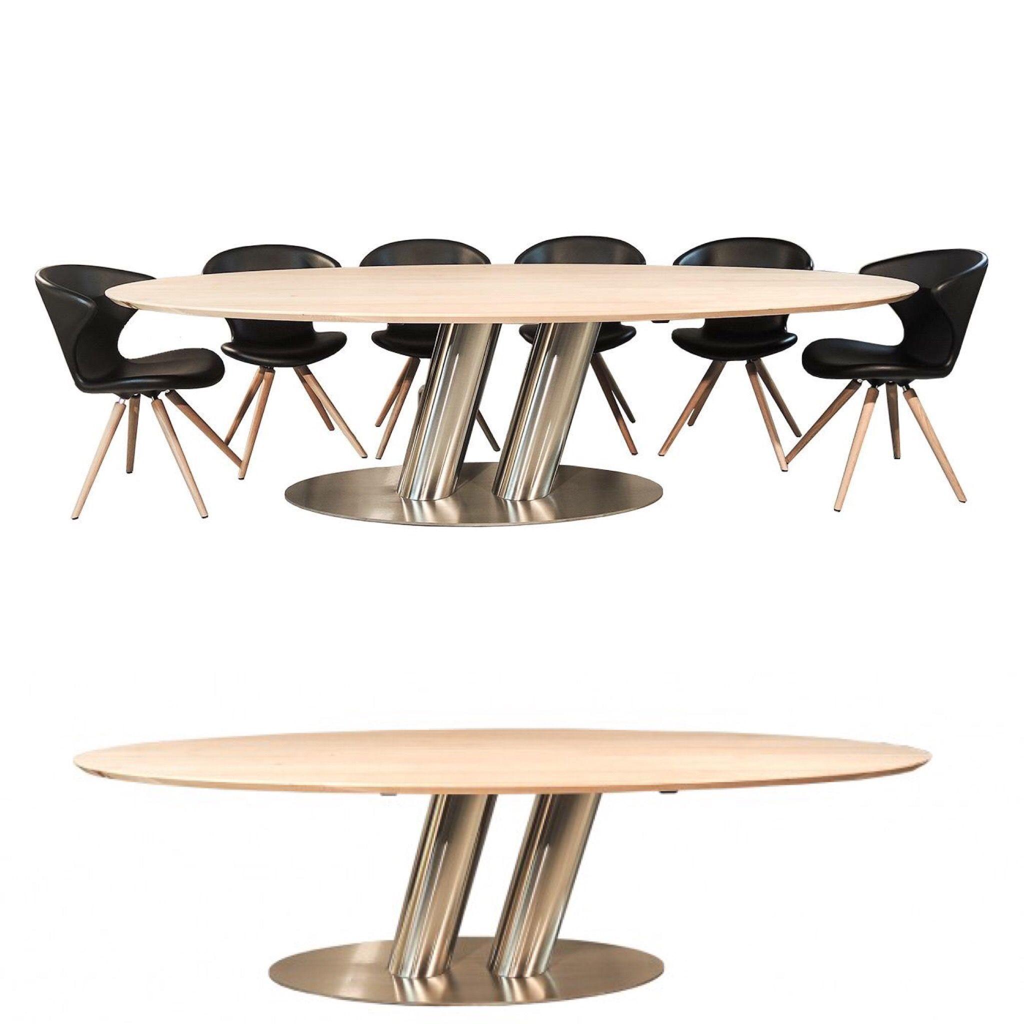 Ovaal design rvs lokaal vakmanschap madeinfriesland for Design tafel ovaal