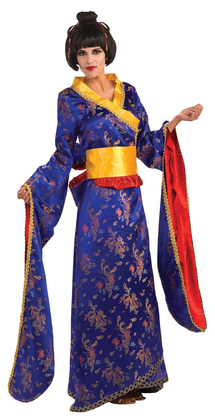 Samurai Princess Costume - Japanese Costumes  Around The-8550