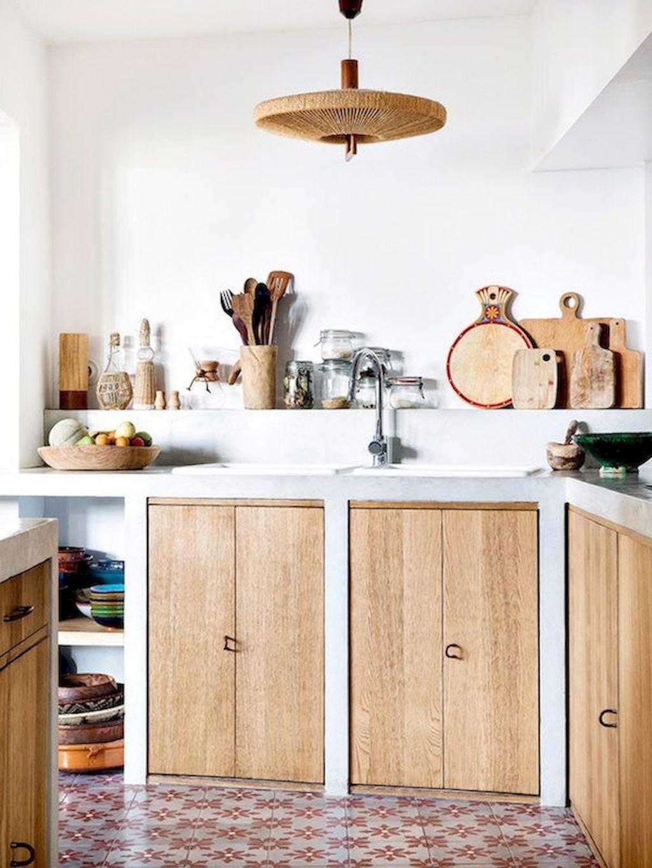 90 Best Scandinavian Kitchen Cabinets Ideas Renovations Photos Https Carrebianhome Com 90 Farmhouse Kitchen Design Kitchen Interior Mediterranean Kitchen