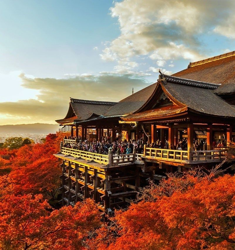 Kiyomizu-dera Temple in Kyoto | TOP 10 Tourist Attractions
