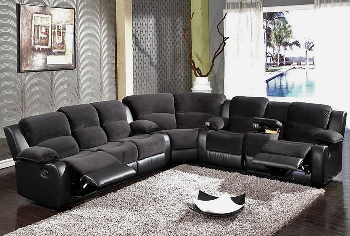 25 Leather Sectional Sofa Design Ideas Sectional Sofa With