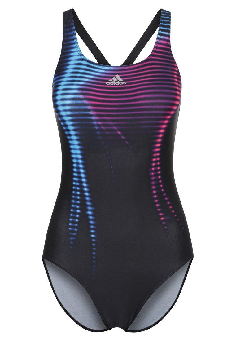 De Color Adidas Mujer Negro Bañador Performance H29YEDWI