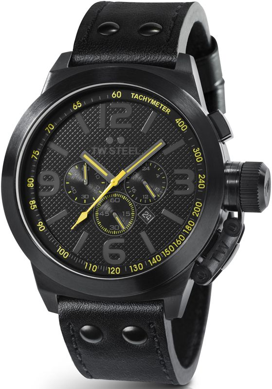 TW Steel Chrono Canteen Cool Black watch Unisex TW900
