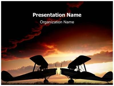 World War Planes Powerpoint Template Is One Of The Best Powerpoint