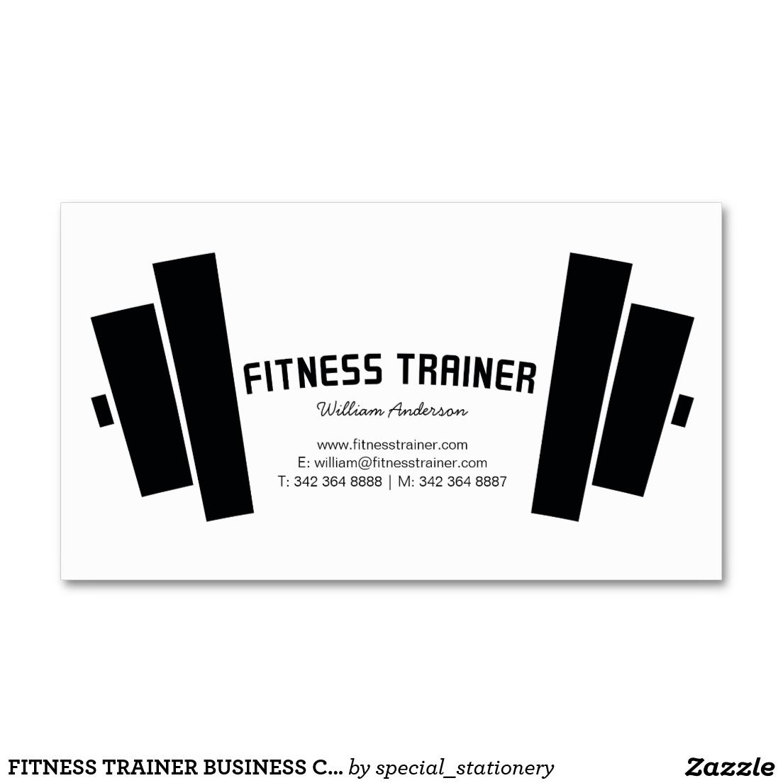 Pin On Fitness Business Cards