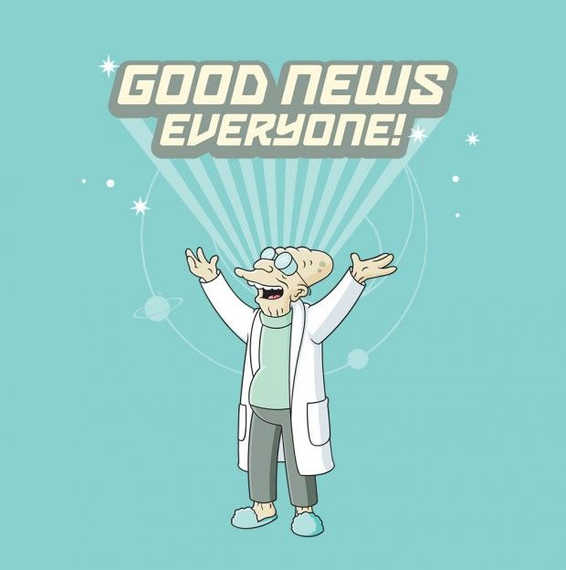 Is There Such A Thing As Good News Radio Hour Futurama Nerd Nerd Geek
